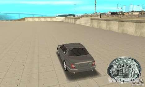 Compteur de vitesse v.2.0 pour GTA San Andreas troisième écran