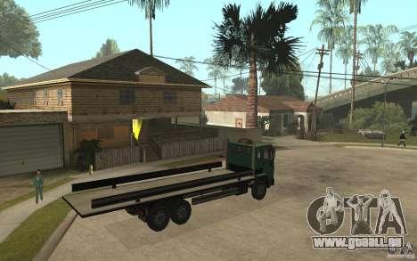 DFT30 Dumper Truck für GTA San Andreas rechten Ansicht