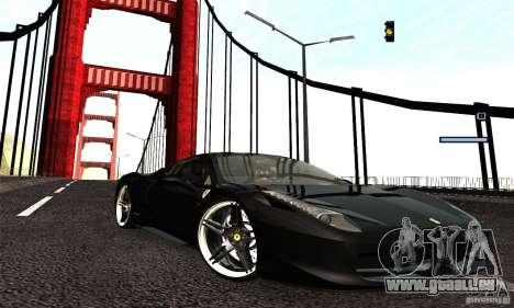 ENB Series 2013 HD by MR pour GTA San Andreas troisième écran