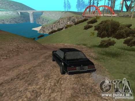 Römische ist Taxi von GTA 4 für GTA San Andreas zurück linke Ansicht