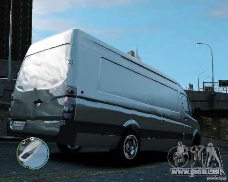 Volkswagen Crafter für GTA 4 rechte Ansicht