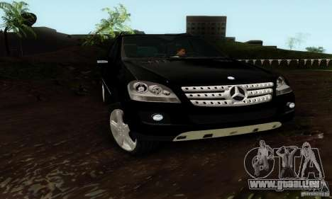Mercedes-Benz ML500 für GTA San Andreas rechten Ansicht