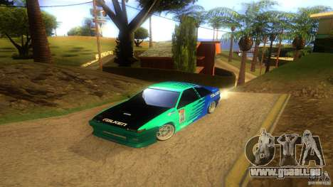 Toyota AE86 Coupe - Final für GTA San Andreas obere Ansicht