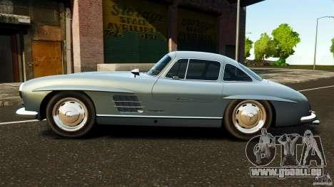 Mercedes-Benz 300 SL GullWing 1954 v2.0 pour GTA 4 est une gauche