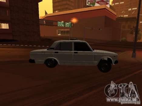 VAZ 2107 plein azéri pour GTA San Andreas vue de droite