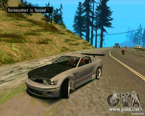 Ford Mustang GTR pour GTA San Andreas