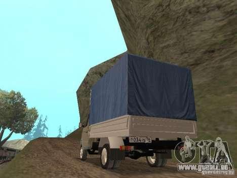 GAZ 3302 im Jahr 2001. für GTA San Andreas rechten Ansicht