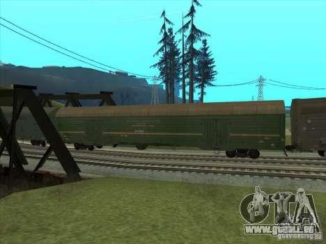 Wagon # 59004960 pour GTA San Andreas vue arrière