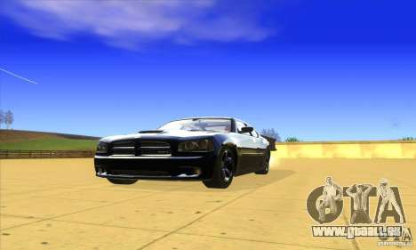 Dodge Charger From Fast Five pour GTA San Andreas laissé vue