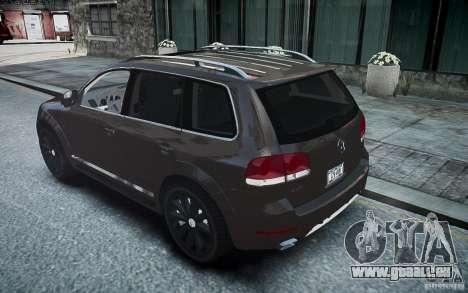 Volkswagen Touareg R50 pour GTA 4 est une gauche