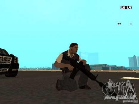 No Chrome Gun pour GTA San Andreas quatrième écran