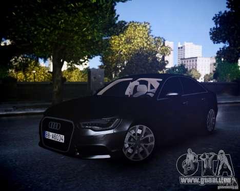 Audi A6 2012 für GTA 4 linke Ansicht