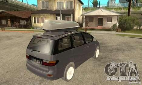 Toyota Estima pour GTA San Andreas vue de droite