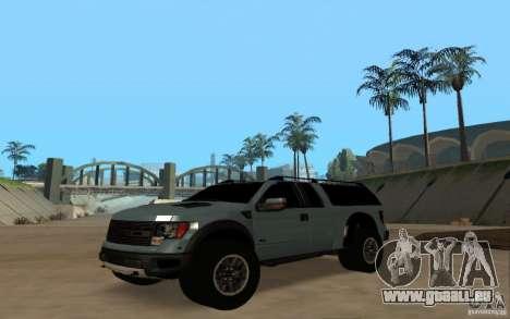 Ford Velociraptor pour GTA San Andreas vue de droite