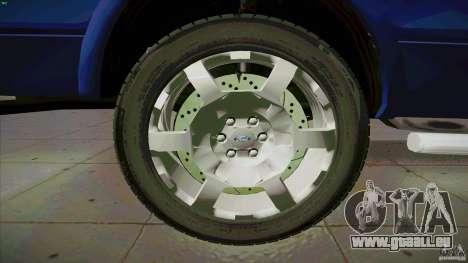 Ford Lobo Lariat Ecoboost 2013 pour GTA San Andreas vue de côté