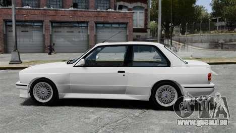 BMW M3 E30 v2.0 für GTA 4 linke Ansicht