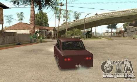 VAZ 2106 Street Style pour GTA San Andreas laissé vue