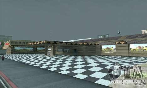 La mise à jour garage CJ dans SF pour GTA San Andreas troisième écran