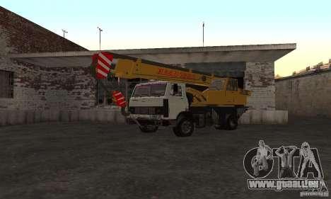 MAZ-LKW-Kran für GTA San Andreas