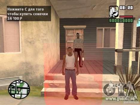 Acheter graines pour GTA San Andreas troisième écran