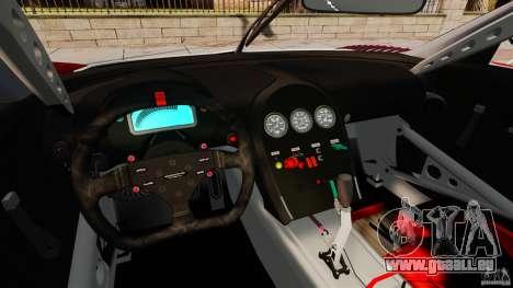 Bugatti Veyron 16.4 Body Kit Final Stock für GTA 4 Rückansicht