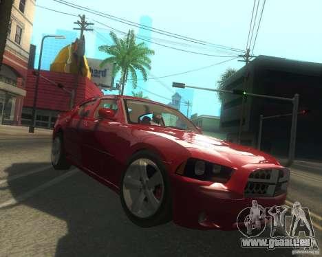 Dodge Charger 2011 pour GTA San Andreas vue intérieure