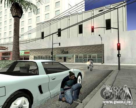 Capot du système pour GTA San Andreas cinquième écran