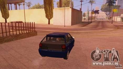 Volkswagen Gol G4 pour GTA San Andreas sur la vue arrière gauche