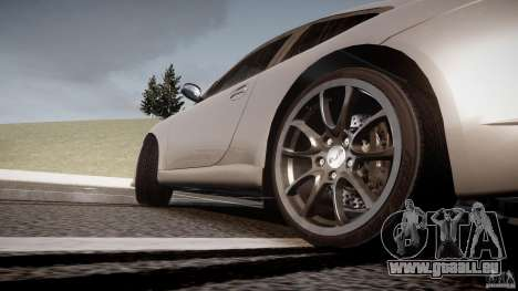 Porsche GT3 997 für GTA 4 Unteransicht