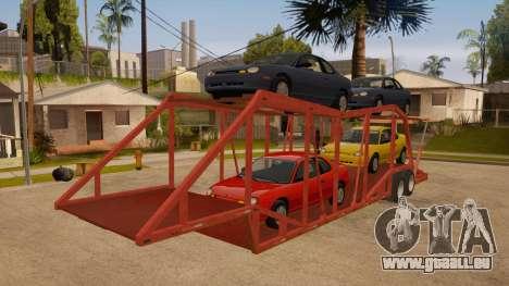 Auflieger-LKW für GTA San Andreas