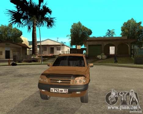 CHEVROLET NIVA Version 2.0 für GTA San Andreas Rückansicht
