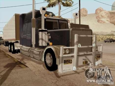 Western Star 4900 Aust pour GTA San Andreas laissé vue