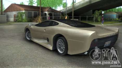 Jaguar XJ 220 Black Rivel für GTA San Andreas linke Ansicht