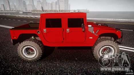 Hummer H1 4x4 OffRoad Truck v.2.0 pour GTA 4 est une gauche