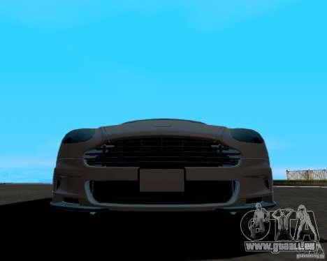 Aston Martin DBS für GTA San Andreas Rückansicht