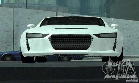 Audi Quattro Concept 2013 für GTA San Andreas obere Ansicht