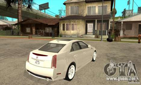 Cadillac CTS-V 2009 v2.0 für GTA San Andreas rechten Ansicht