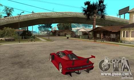 Alfa Romeo Tipo 33 GTI pour GTA San Andreas sur la vue arrière gauche