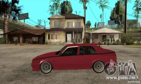 Alfa Romeo 75 Drifting für GTA San Andreas linke Ansicht