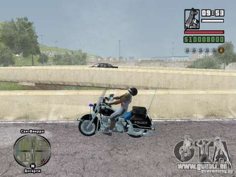 Helmet mod pour GTA San Andreas deuxième écran