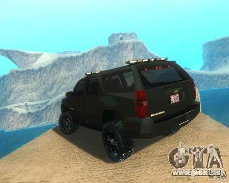 Chevrolet Suburban Crankcase Transformers 3 für GTA San Andreas linke Ansicht