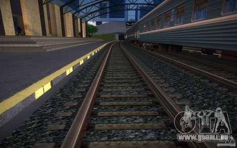HD Schienen V 2.0 Final für GTA San Andreas dritten Screenshot
