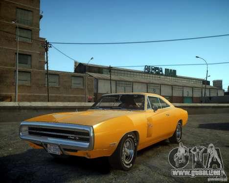 Dodge Charger Magnum 1970 pour GTA 4 est une gauche