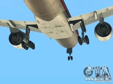 Boeing 777-200 American Airlines pour GTA San Andreas vue arrière