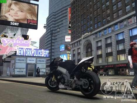 Aprilia RSV-4 Black Edition pour GTA 4 est un droit