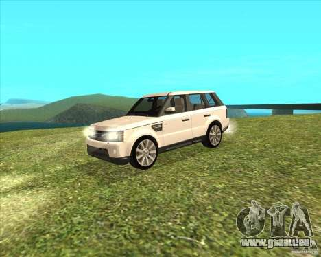 Range Rover Sport 2012 für GTA San Andreas