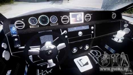 Rolls Royce Phantom Sapphire Limousine Disco pour GTA 4 Vue arrière