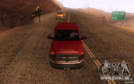 Dodge Ram 3500 Laramie 2010 pour GTA San Andreas vue de côté