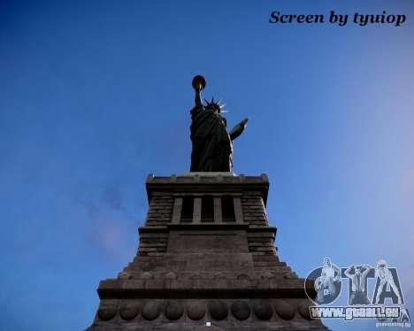 New Statue of Liberty pour GTA 4 secondes d'écran
