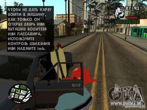 Mr. Krabs für GTA San Andreas achten Screenshot